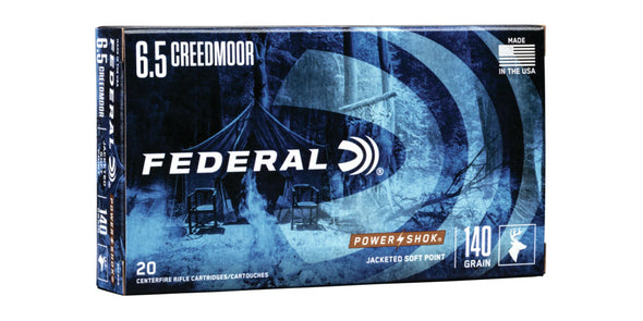 Federal Power-Shok 6.5 Creedmoor - 65CRDB