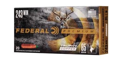 Federal Trophy Copper 243 Win - 243TC1
