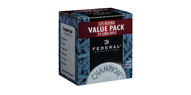 Federal Value .22lr Pack - Box of 525