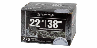 Federal Field Pack 22lr 38gr Hollow Point
