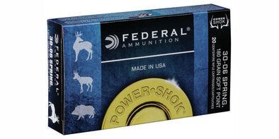 Federal Power-Shok 30-06sprg 180gr Soft Point