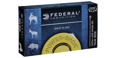 Federal Power-Shok 308win 180gr Soft Point