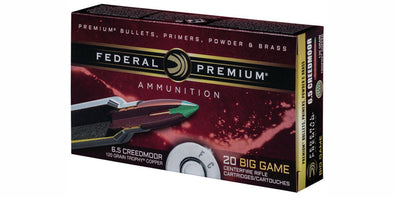 Federal Premium 6.5 Creedmoor 120gr Trophy Copper