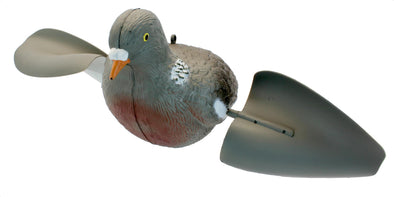 Podium Spinning Wing Pigeon Decoy - Angle