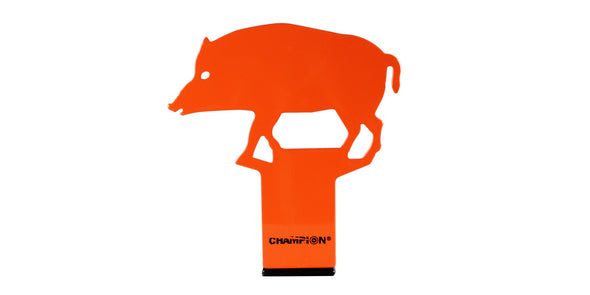 Champion Pop Up Metal Target - Hog
