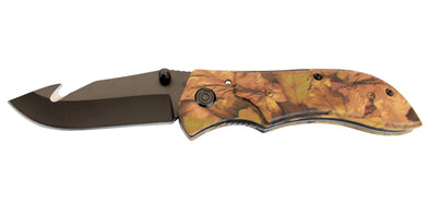Podium Camo Folding Knife - Open