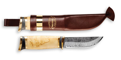 Marttiini Damascus Decorative Hunting Knife