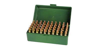 Megaline 50 Round Bullet Box - Small .223 cal