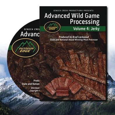 Outdoor Edge Advanced Wild Game Processing DVD