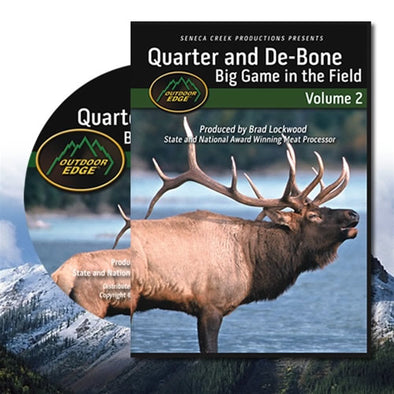 Outdoor Edge Quarter & De-Bone Big Game DVD