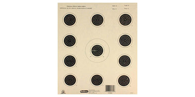 Outers Official 50ft Small Bore Rifle Target