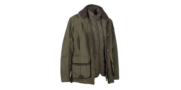 Percussion Normandie 3 in 1 Hunting Jacket Green - 13112