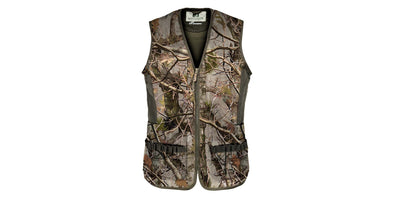 Percussion Palombe Hunting Vest in Forest Camo - 1227