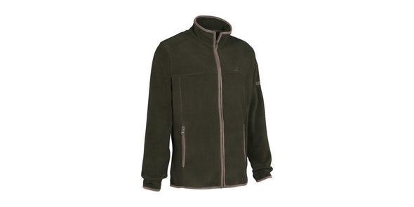 Percussion Scotland Fleece Jacket Khaki Green - 15173