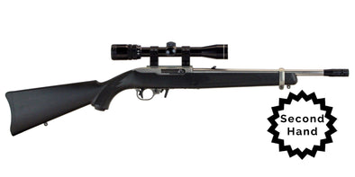 Second Hand Ruger 10/22 Carbine Synthetic Stainless