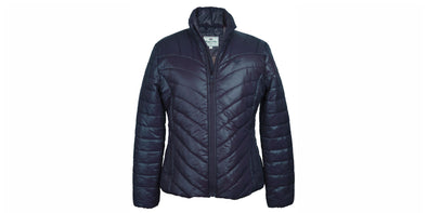 Hoggs of Fife Wilton Padded Jacket - Navy