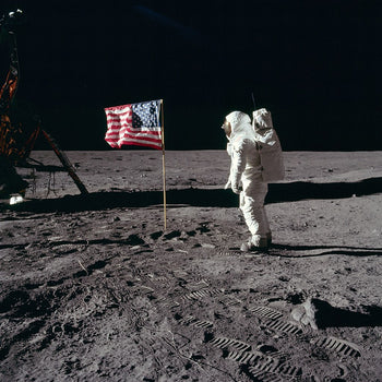 Apollo 11 - First manned Moon landing, July 20, 1969