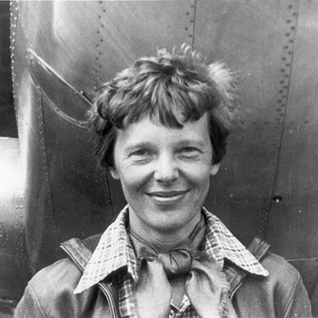 Amelia Earhart - American aviation pioneer (1897-1937)