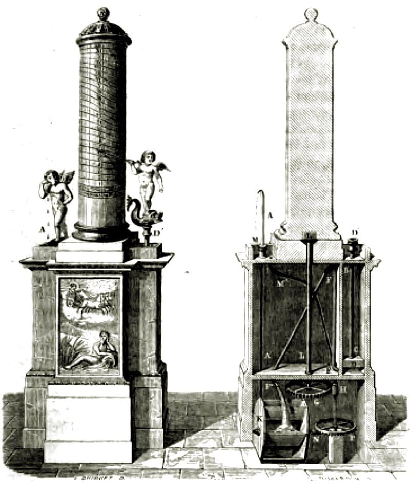 greek waterclock