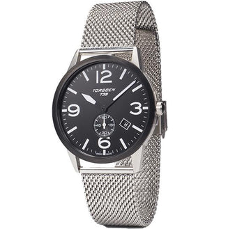 T39 Black | 41mm - Metal Strap