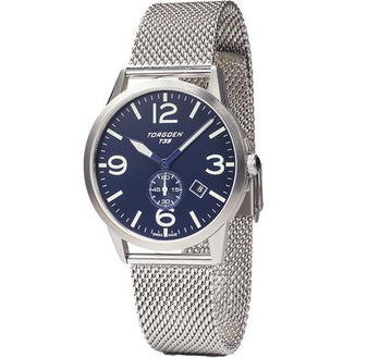 T39 Blue | 41mm - Metal Strap