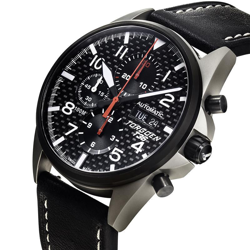 T36 Carbon Fiber | 44mm - Limited Edition - Valjoux 7750