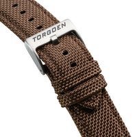 Brown Nylon Strap | 22mm
