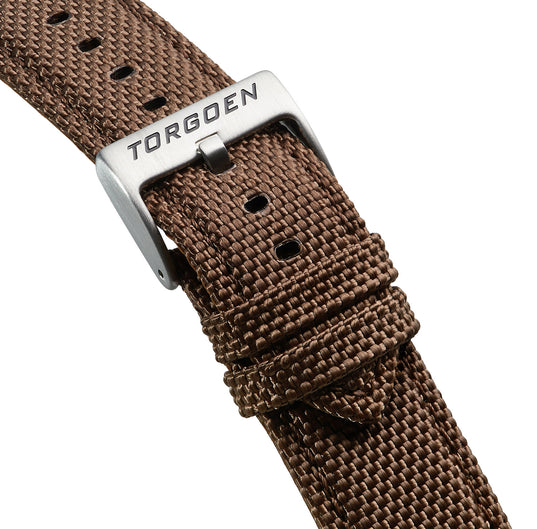 Brown Nylon Strap | 24mm