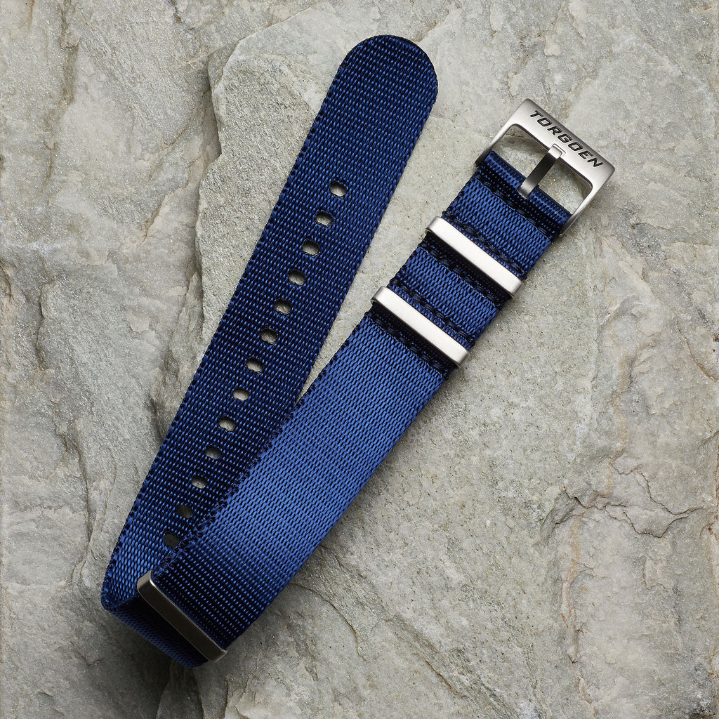 Copy of Blue Nato Strap | 22mm