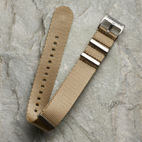 Brown Nato Strap | 22mm