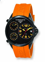 T08 Triple Time Zones 45mm | Orange Strap