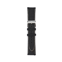 Black Nylon Strap 22mm - Torgoen