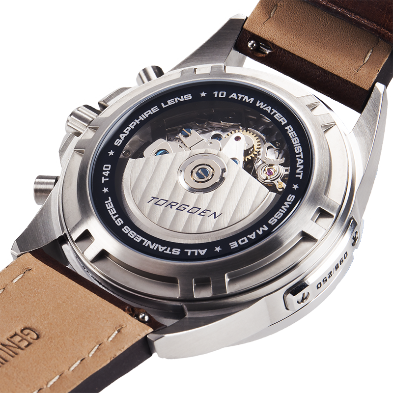 T40 Cream Automatic | Limited Edition - Valjoux 7754
