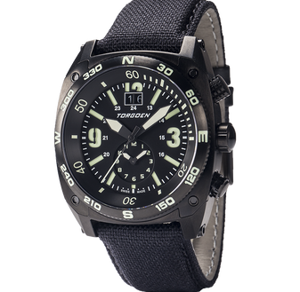 T7TB Tactical Black | 43 mm - 3 Black Bands