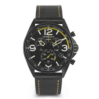 T18 Carbon Fiber | 45mm - Leather Strap