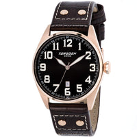 T28 Swiss Black | 45mm - Leather