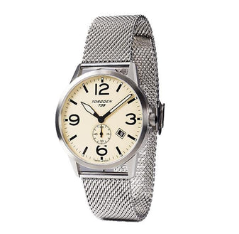T39 Cream | 41mm - Metal Strap