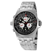 T01 Swiss E6B Chrono Flight Computer | 39mm - Stainless Steel