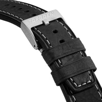 Black Calf Leather Strap | 22mm