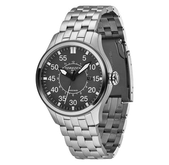 T34 Grey | 45mm - Metal Strap