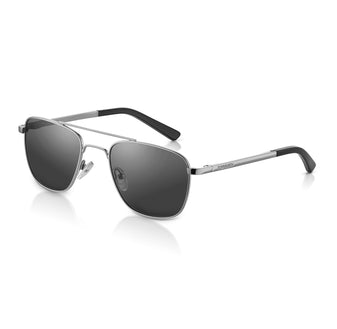 Silver Square Aviation Sunglasses