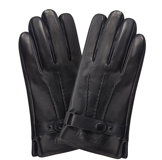 Luxury Leather Men's Gloves