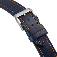 Blue Leather Strap | 20mm