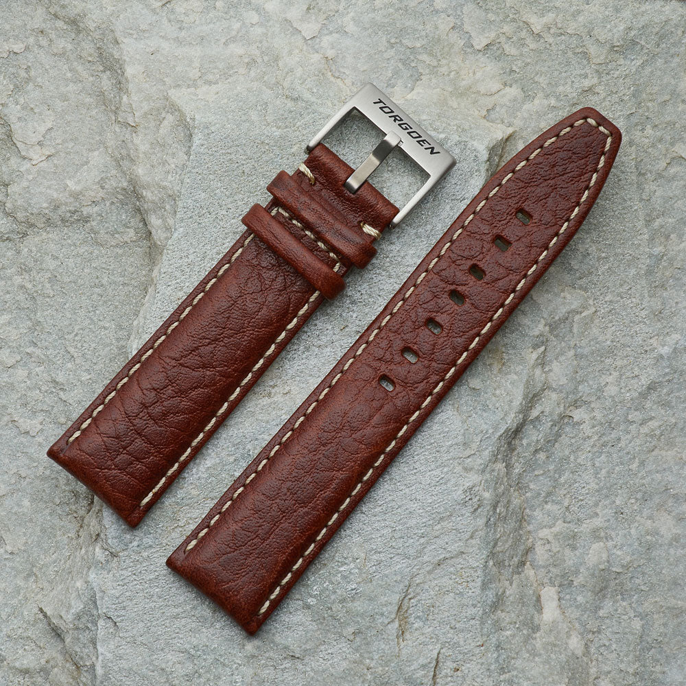 Brown Leather Strap | 22mm