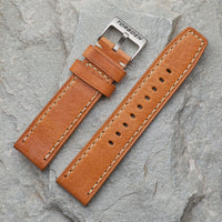 XL Camel Leather Strap | 24mm