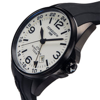 T25 Cream Dial - Night Pro | 44 mm - Black Silicone Strap