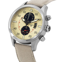 T33 Cream | 45mm - Nylon Strap