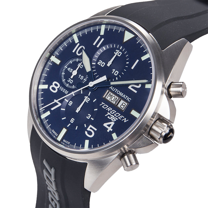 T36 Blue Automatic | 44mm - Limited Edition - Valjoux 7750