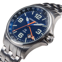 T9 Bluebird Metal GMT | 42mm  - Metal Strap