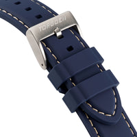 Blue Silicone Strap | 22mm